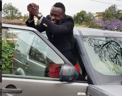 Comedian Oga Obinna gifts wife brand new car just weeks after buying Ksh 4 million Land Rover (photos)