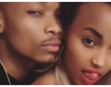 Otile Brown parades his new catch after Vera Sidika claimed he couldn't satisfy her (Photos)
