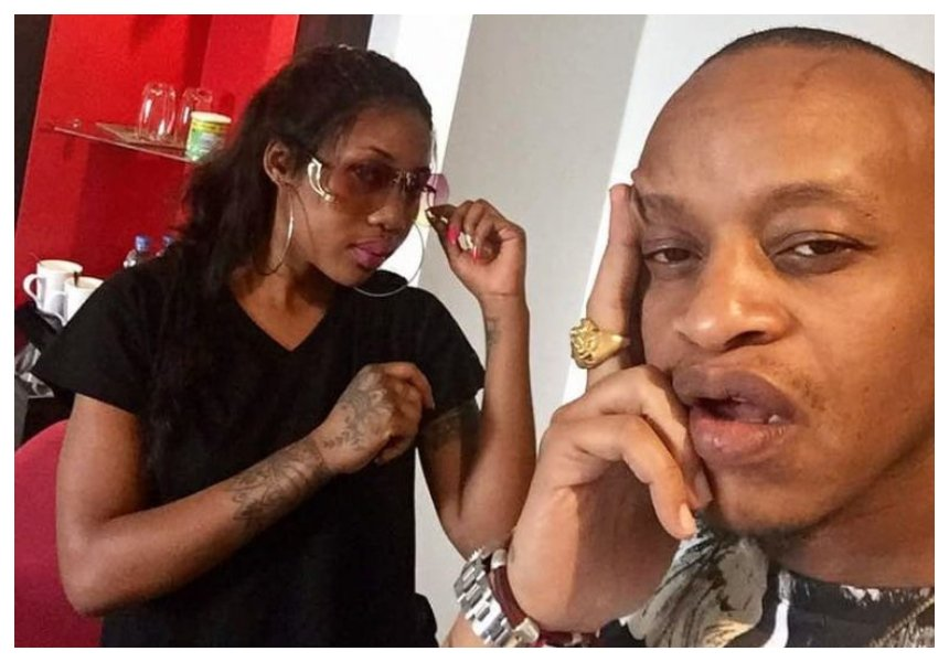 Breakup for who! Amber Lulu and Prezzo are back together (Photos)
