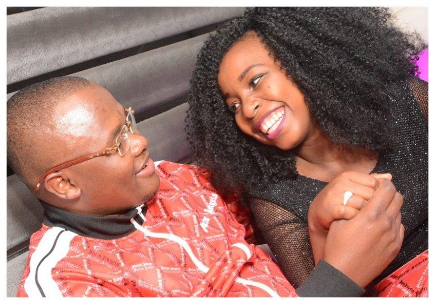 Saumu Mbuvi flaunts another engagement ring (Photos)