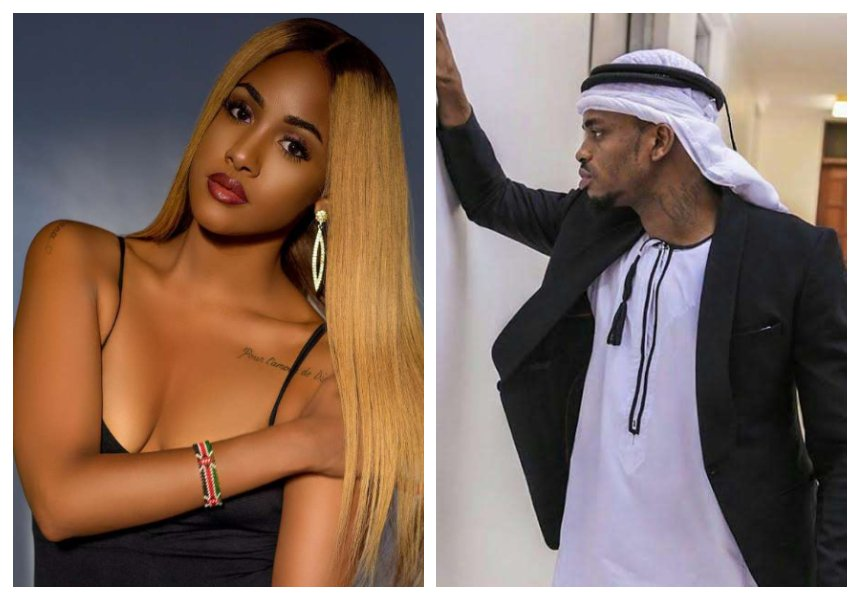 Diamond Platnumz confirms he is in love with Nick Mutuma's ex Tanasha Donna Oketch (Video)