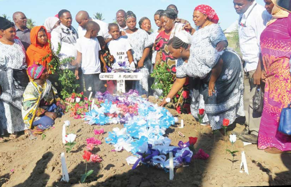 Popular Tanzanian actress shot dead in Johannesburg laid to rest
