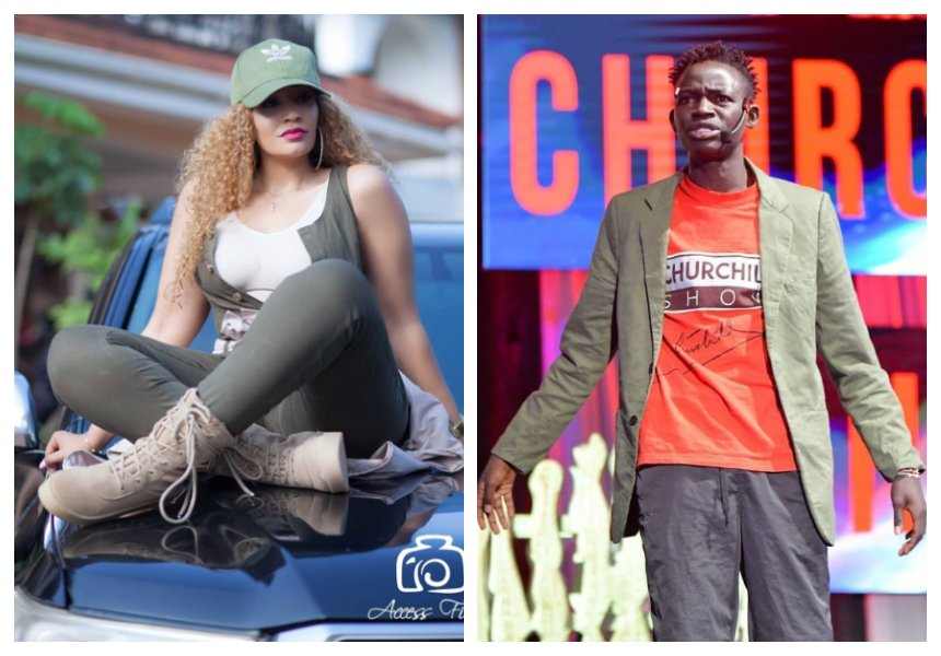 Zari Hassan finally responds to MCA Tricky after he confronts her for snubbing him