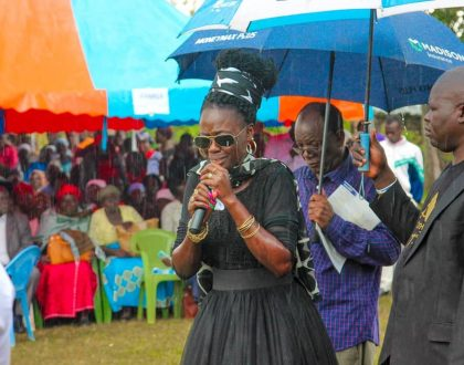 """""""Without you the family would have rejected my idea of joining music"""" Akothee eulogizes her grandfather"""