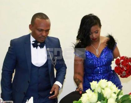 In pictures: KTN anchor Ben Kitili exchanges vows with his baby mama Amina Mude in unique interfaith wedding ceremony