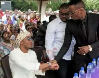 Diamond finally responds after Alikiba said he won't perform in his festival but he's willing to partner
