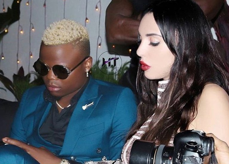 Harmonize and his Italian girlfriend Sarah Michelotti