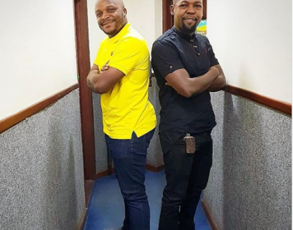 Jalang'o and Alex Mwakideu disagree live on air and end up switching off each other's Mics