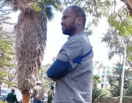 Joseph Irungu denied treatment at Kenyatta Hospital, given painkillers for his arm instead of surgery