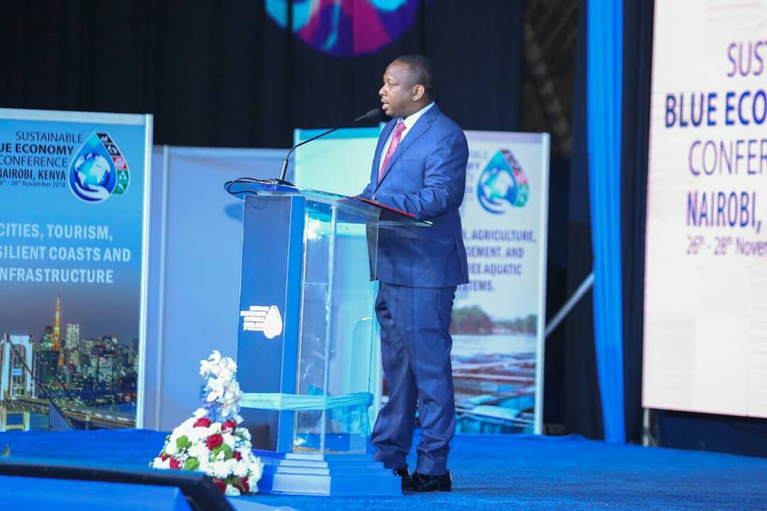 Mike Sonko finally explains why he chose to twang while delivering his speech at the Blue Economy Conference