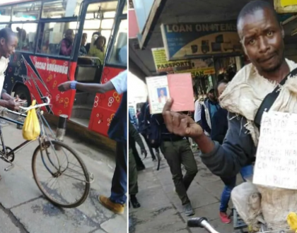 Kisii pastor leaves Kenyans speechless after cycling 305km to Nairobi to look for a job(photos)
