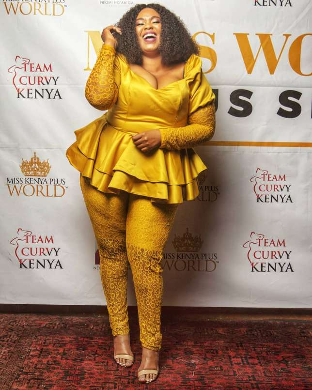 Neomi Ng'ang'a lands lucrative job from Miss Plus World Kenya