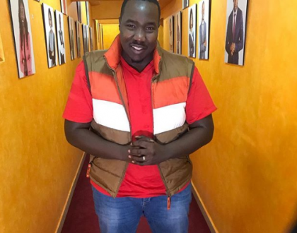 Willis Raburu sends lovely message to Joey Muthengi after she ditched him and Citizen TV