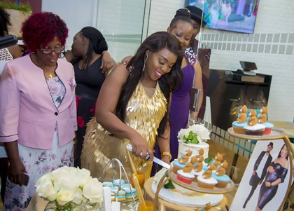Risper Faith holds lavish baby shower (Photos)