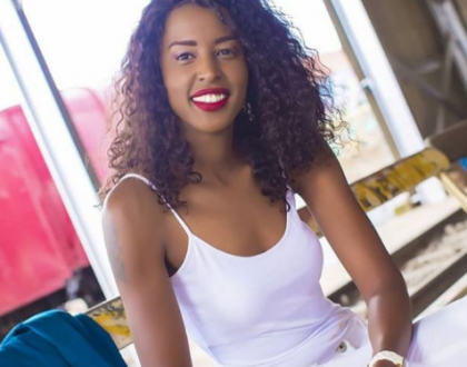 HBR Radio presenter Sheila Kwamboka gives fan piece of her mind after begging her to wear a push-up bra