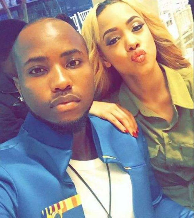 Tanasha Donna and Nick Mutuma while they were still dating