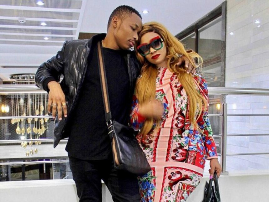 Otile Brown open up about his cheesy pick up lines that melted Vera Sidika's heart