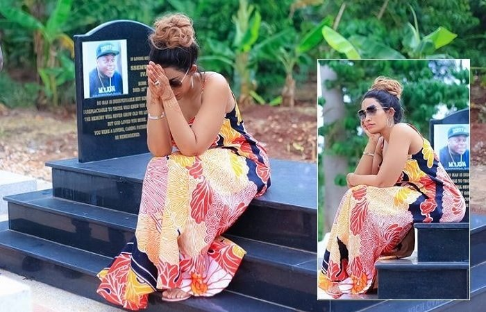 Zari to late husband Ivan: I passed by to see you but didn't find anyone home, will bring the boys later