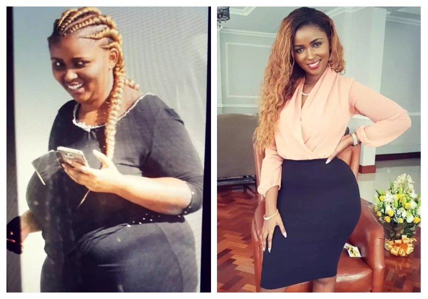 Savage! Anerlisa Muigai clap back after a concerned fan tells her to watch her weight
