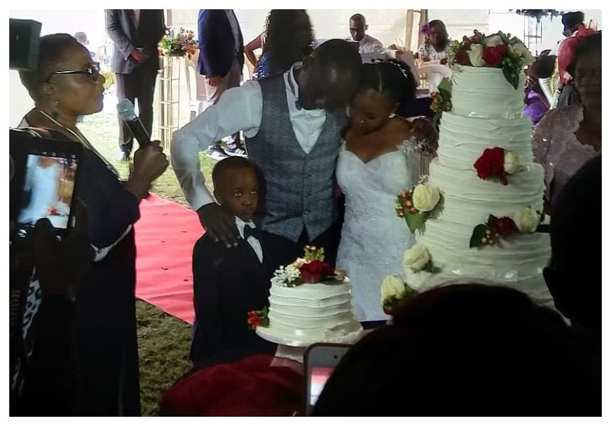 Former NTV anchor Cliff Onserio finally weds after sparking public uproar with wedding fundraiser (Photos)