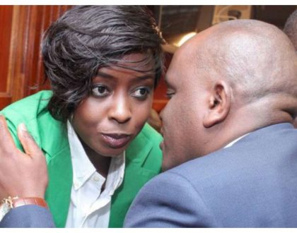 Baby on board? Dennis Itumbi hinting Jacque Maribe is pregnant with baby number 2?