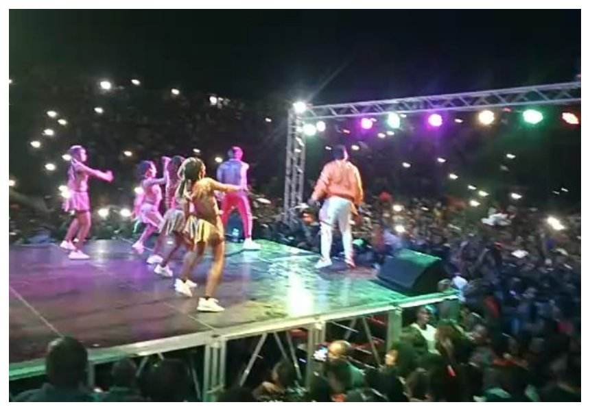 Above the law! Diamond defies Basata and performs hit song 'Mwanza' which was banned (Video)