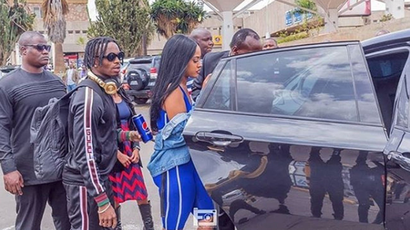 Diamond:I am not a man of big things, just look at the sandals I came to Kenya wearing.I don't wear name brands like Gucci