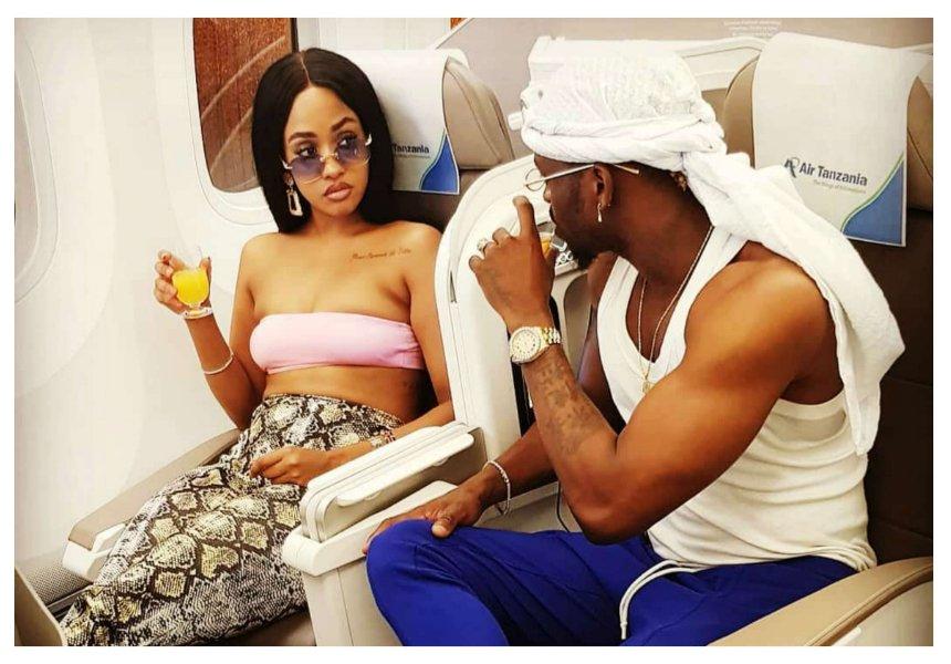 Rude boy! Diamond breaks privacy agreement with Tanasha