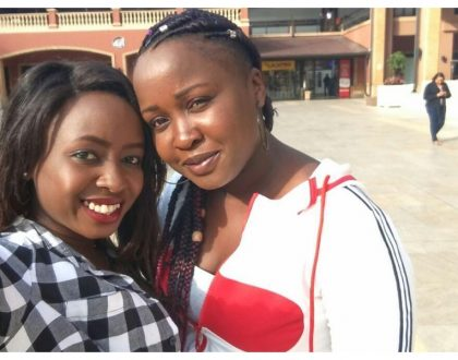 Don't mess with my family! Jacque Maribe and her elder sister Cathylene Maribe spend quality time together (Photo)