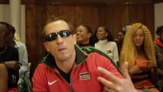 Rudi swimming brathee! Reactions as Kenyan Olympic swimmerJason Dunford drops rap song