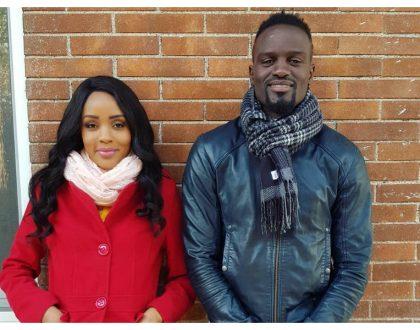 Husband and wife reunite! Joey Muthengi joinsMcDonald Mariga in Italy (Photos)
