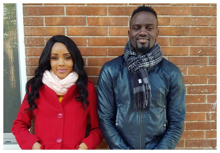 Husband and wife reunite! Joey Muthengi joins McDonald Mariga in Italy (Photos)