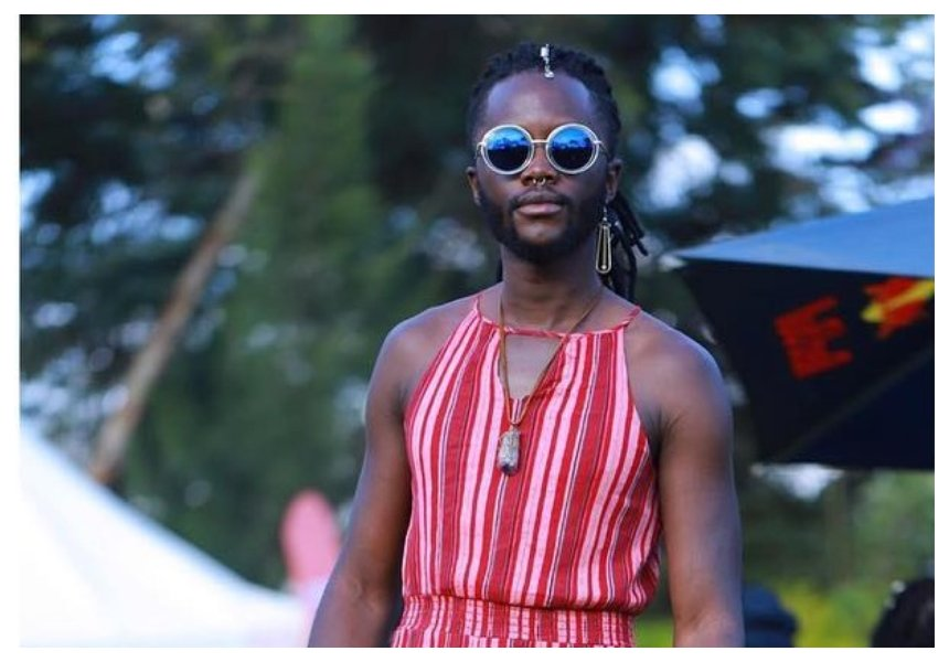Kisumu governor's son describes himself as a woman days after wearing red thong, red high heels and red lipstick (Photos)