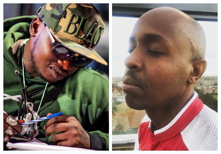 """Buda uko na bahati siku hizi nimekua mpole"" Khaligraph Jonesputs DJ Pinye on notice"