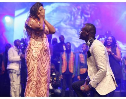 """You're nothing but a sore loser, a wasted sperm"" King Kaka's fiancée Nana Owiti fires at Nyakundi"