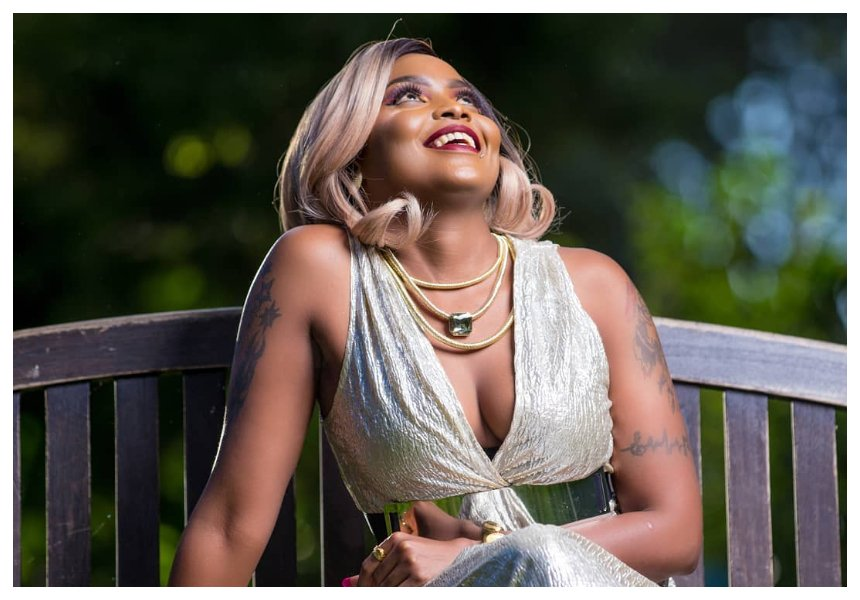 New boyfriend? Kush Tracey stirs up excitement with romantic photos of mzungu man and her