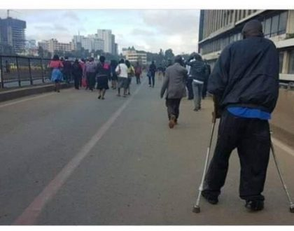 City preacher calls Sonko an idiot who doesn't deserve leadership position as photos emerged of disabled struggling to get to CBD following matatu ban