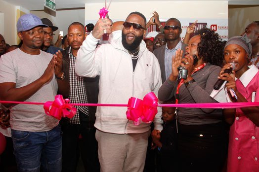 American rapper Rick Ross opens chemotherapy wards at Texas Cancer Center