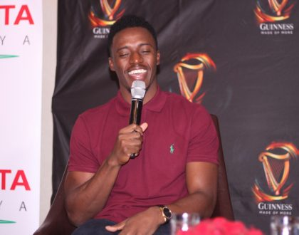 Jamaican star Romain Virgo set to fulfill singer Vivian's promise now that he's in Kenyan