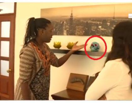 Rosemary Odinga explains why she has replica of late Fidel Odinga's skullin her living room