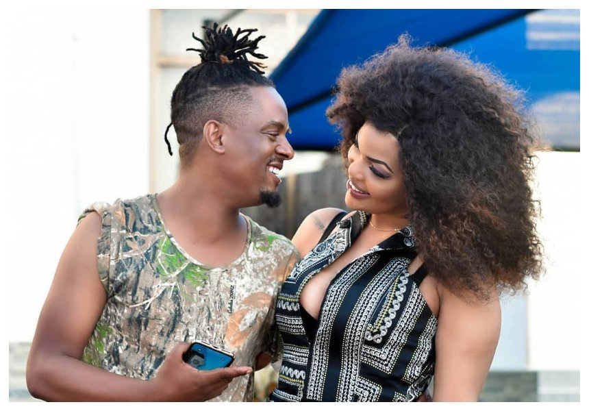 Sauti Sol's Savara Mudigi announces Wema Sepetu as his girlfriend (Photos)
