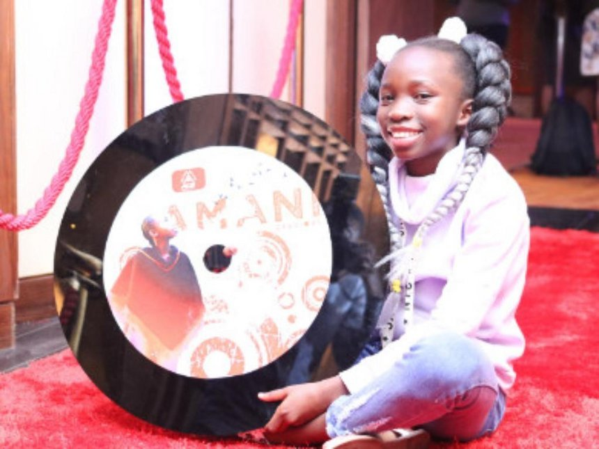 13-year-old gospel singer Amani G speaks on her KCPE performance