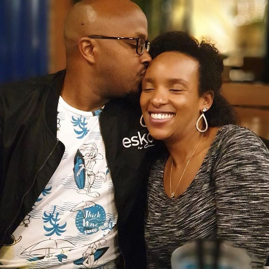 DJ Creme and his wife Denise