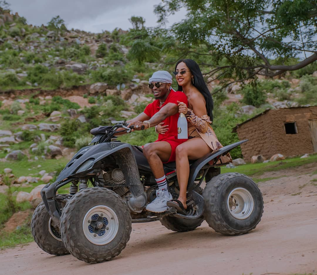 """I will never cheat on you!"" Diamond Platnumz pours out his heart to Tanasha Donna"