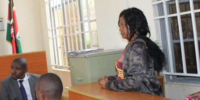 Grace Kanamu Namulo in court