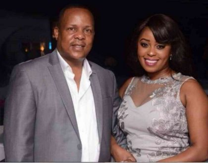 Lilian Muli reunites with community husband Jared Ombong'i