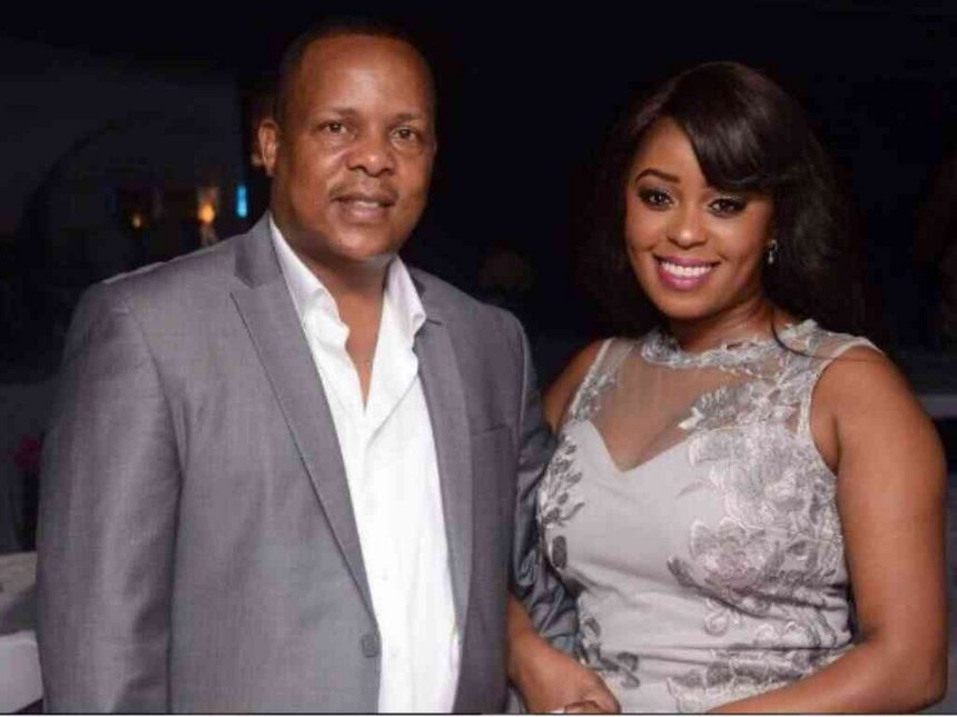 """Don't be mad, it's just the brand new me"" Lilian Muli takes another dig at her ""community"" ex-husband Nevaton?"