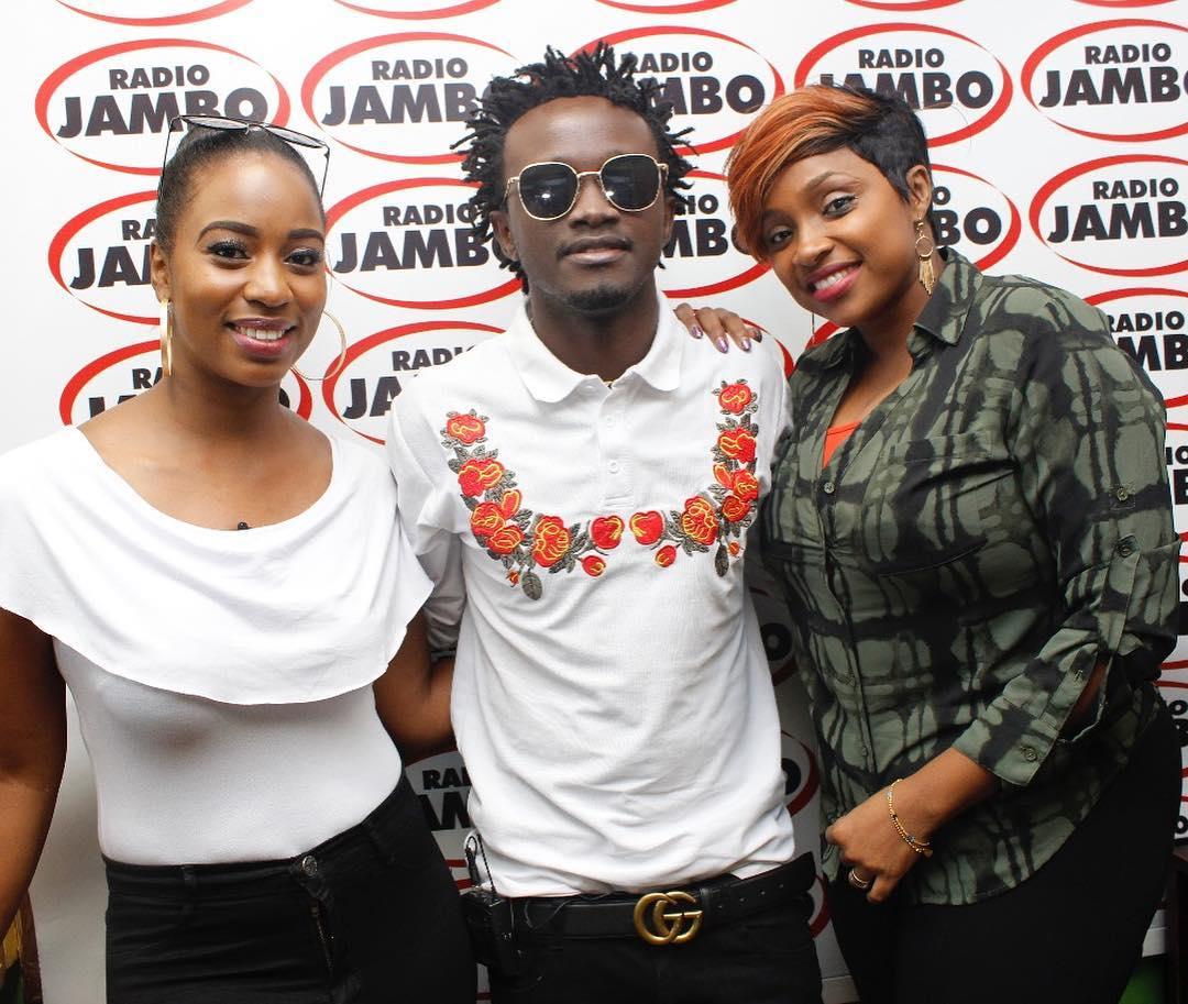 Diana Marua, Bahati and Massawe Japanni