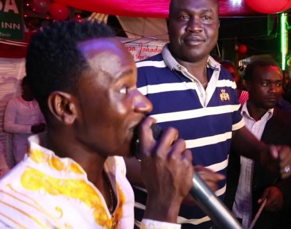 "Popular Nyanza artist forced to deny he's infected by killer STI ""Jakadala"""