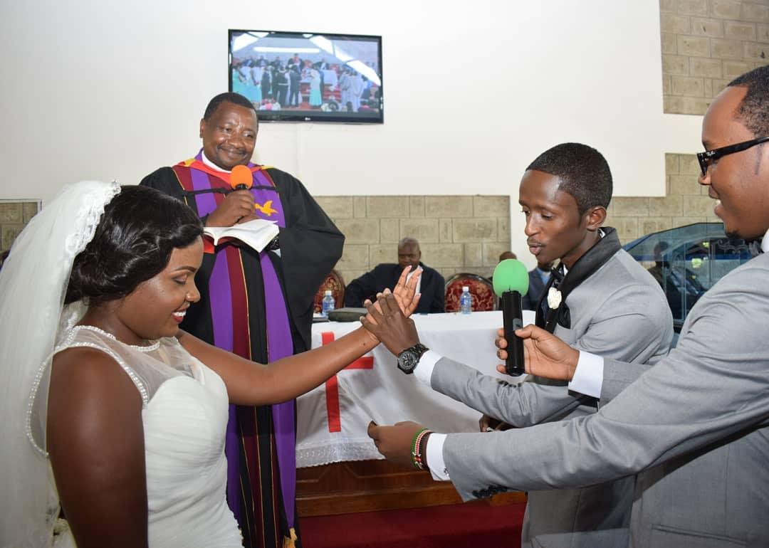 Njuguna and Celestine Ndinda celebrate 2nd wedding anniversary (Photos)